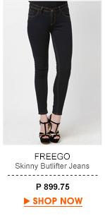 Skinny butlifter Jeans