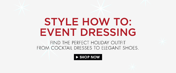 Shop the Style Guide to Event Dressing