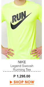 Legend Swoosh Running Tee