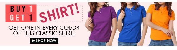 Buy 1 Get 1 Shirt