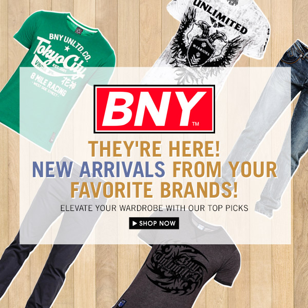 Shop New Arrivals from BNY!