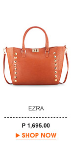 Studded Turn Lock Tote