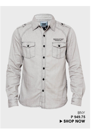Grey Button Down Shirt