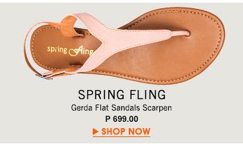 Gerda Flat Sandals Scarpen