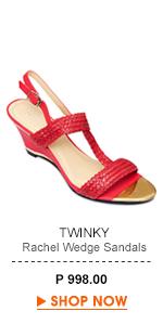 Rachel Wedge Sandals