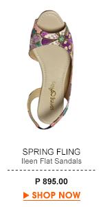 Ileen Flat Sandals