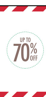 Sale UP to 70% OFF!