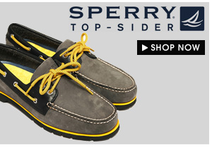 Get the Latest arrival from Sperry!
