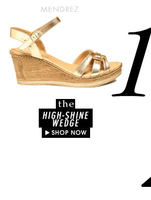 The High-Shine Wedge