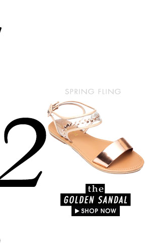 The Golden Sandal