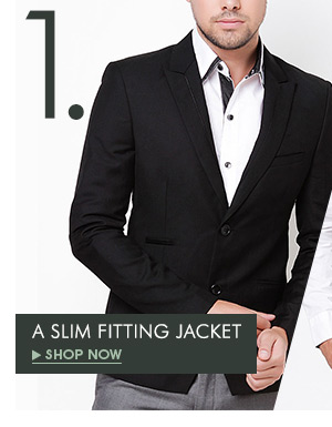 A Slim Fitting Jacket