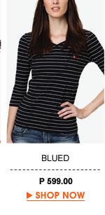 Francia V-Neck Long Shirt