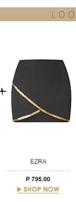 Wrap Hem Skirt