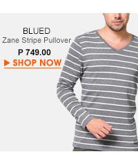 Zane Stripe Pullover