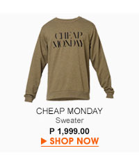 Per Sweat Cheap Monday Sweater