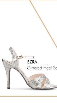 Glittered Heel Sandals