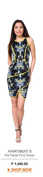 Pia Panel Dress