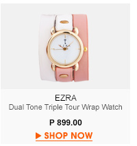 Dual Tone Wrap Watch