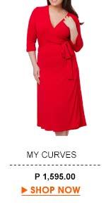 Mitra Wrap Dress