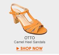 Camel Heel Sandals