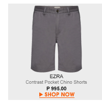 Contrast Pocket Chino Shorts