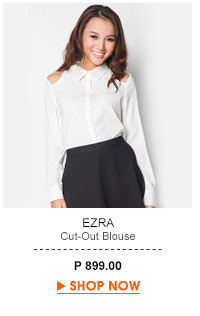 Cut-Out Blouse