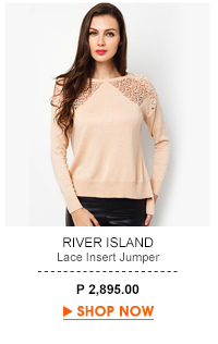 Lace Insert Jumper