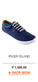 Navy Canvas Lace-Up