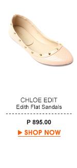 Edith Flat Sandals