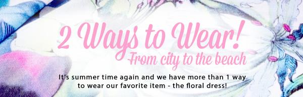 Shop Your Floral Dress!