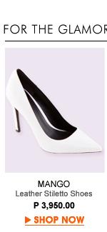 Leather Stilleto Shoes