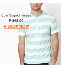Cole Striped Henley