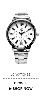 White Round Dial Watch