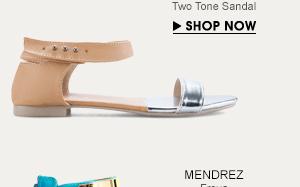 Two Tone Sandal