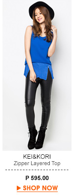 Zipper Layered Top