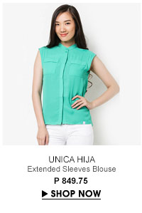 Extended Sleeves Blouse