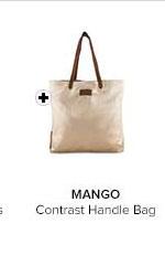 Contrast Handle Bag