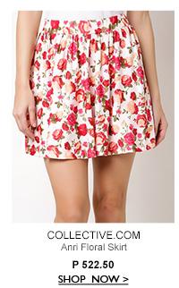 Anri Floral Skirt