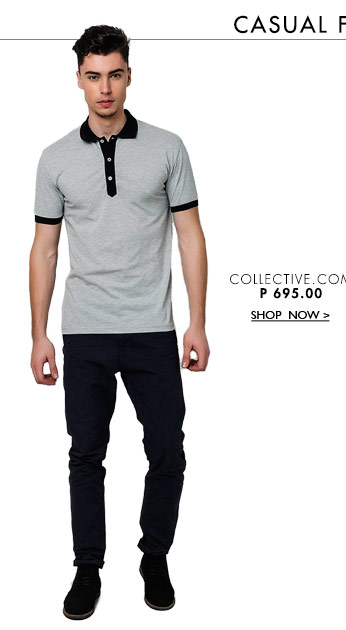 Conan Polo With Contrast Placket And Collar