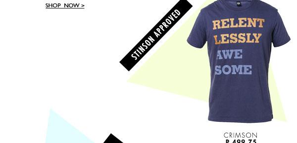 Relentlessly Print T-shirt