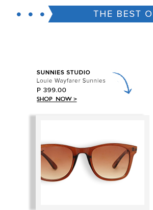 Louie Wayfarer Sunnies