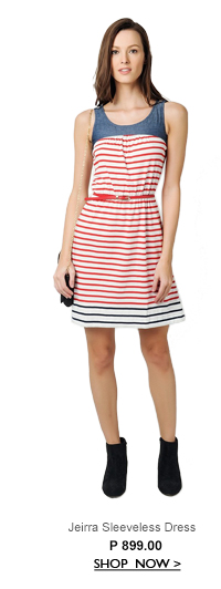 Jeirra Sleeveless Dress