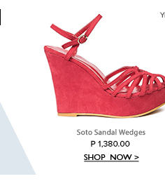 Soto Sandal Wedges