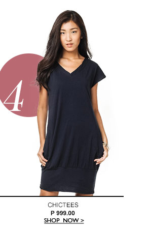 V Pocket Dress