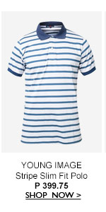 Stripe Slim Fit Polo