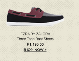 Three Tone Boat Shoes