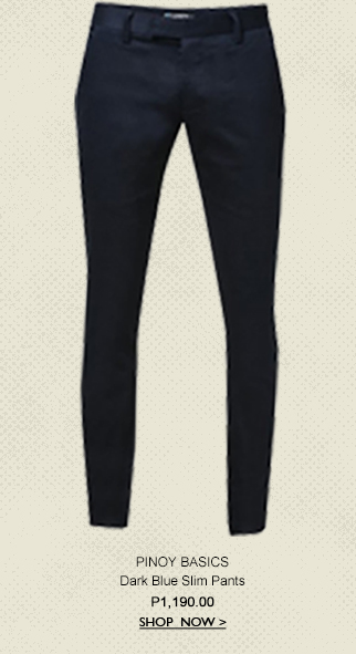 Dark Blue Slim Pants
