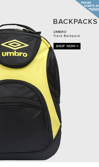 Shop Backpacks at P 550 and Up