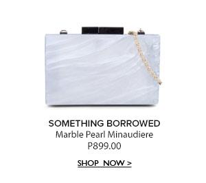Marble Pearl Minaudiere