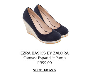 Canvas Espadrille Pump
